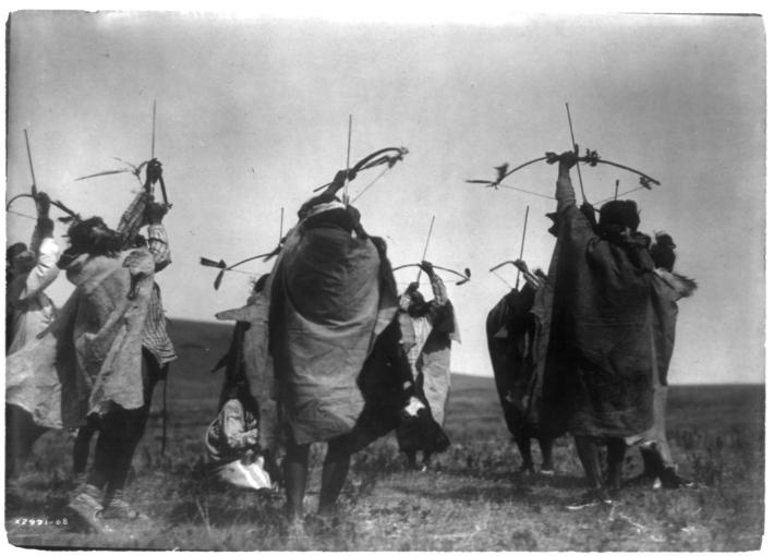 The flight of arrows, Letra salvaje