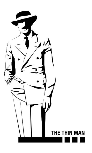 The thin man, Dashiell Hammett