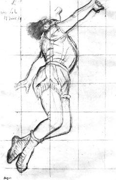 Edgar Degas, Letra Salvaje