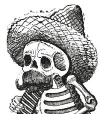 Calaveras del montón, José Guadalupe Posada