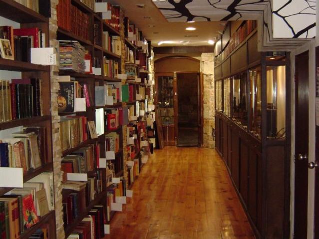 La Nave librería anticuaria y joyería artesanal
