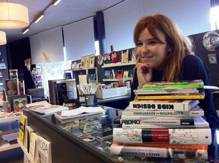 Inma Pérez, Librería Dadá